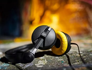 Yellow If You're Lucky: Sennheiser Limited Edition HD25 Headphones
