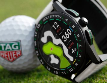 Tag Tees Up with Connected Golf Edition 2020 Smart Watch