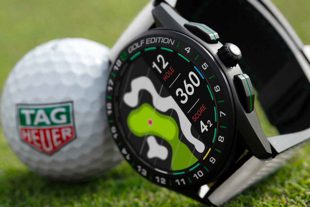 Tag Tees Up with Connected Golf Edition 2020 Smart Watch at werd.com