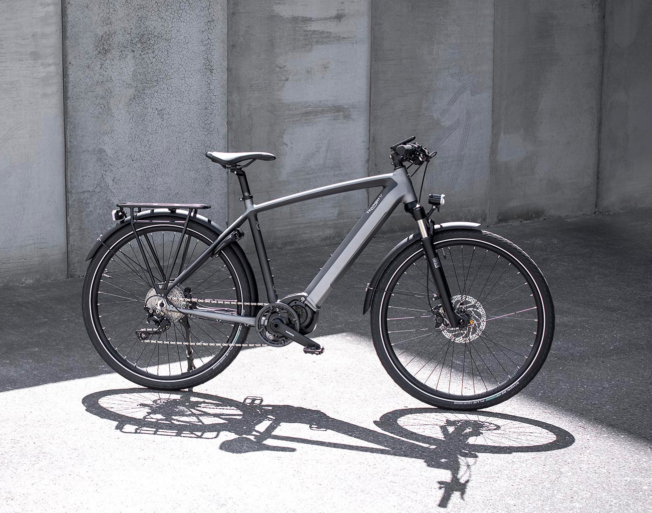 Triumph Introduces The Trekker, Its First-Ever E-Bike at werd.com