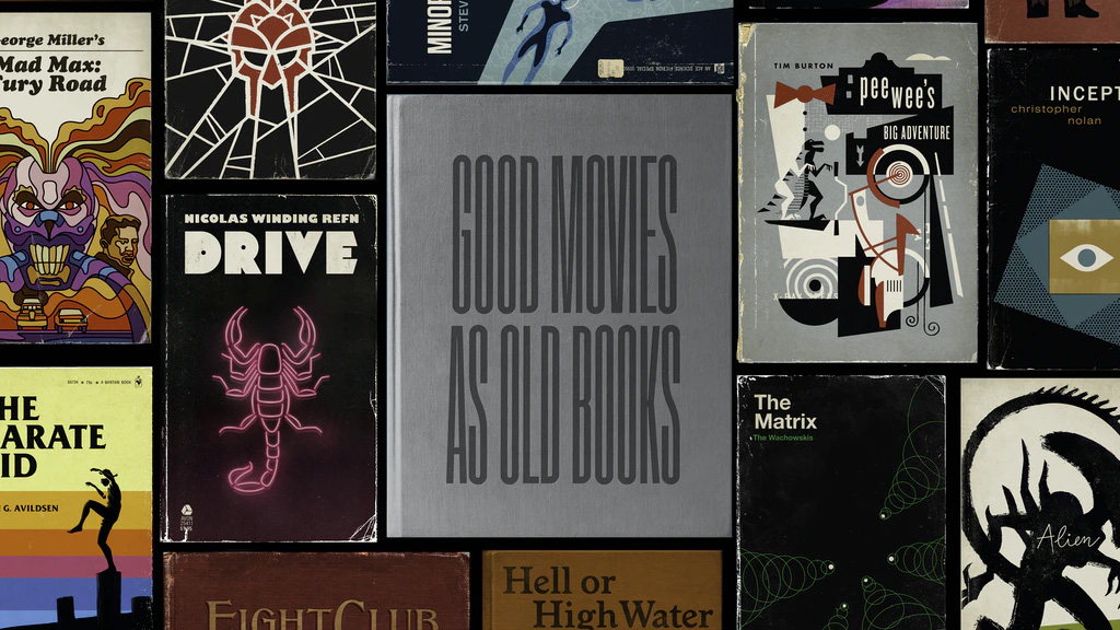 Movies as Books You Can Judge by Their Cover at werd.com