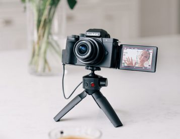 The Lumix G100 is Vlog-Ready