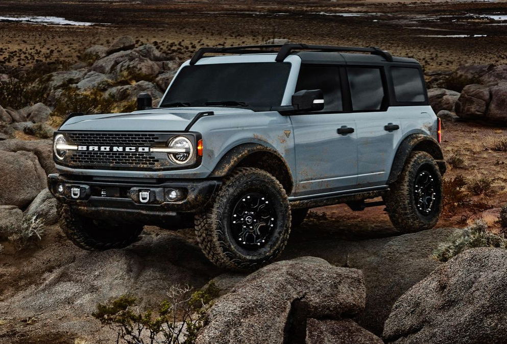 Sorry Jeep: Ford Introduces All-New 2021 Bronco at werd.com