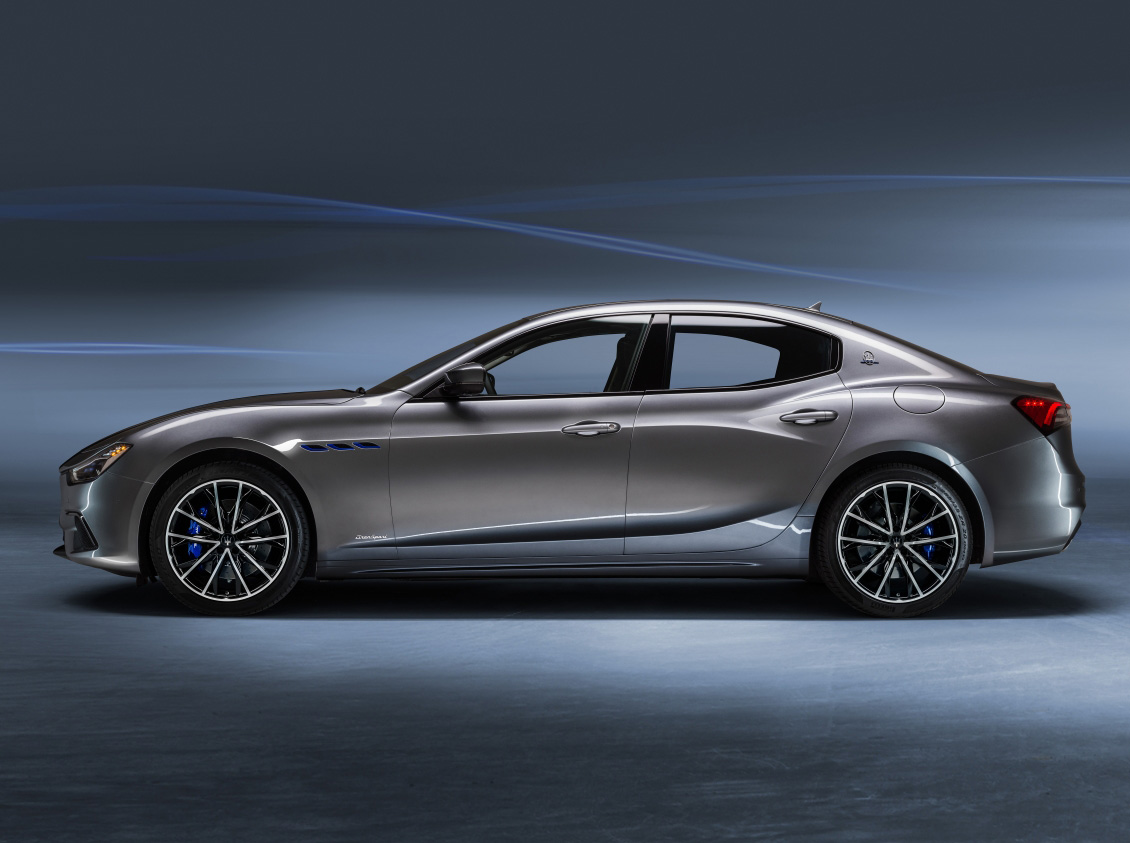 The 2021 Ghibli Hybrid is the First Electrified Maserati at werd.com