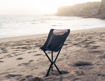 Kick Back in the Campster Full-Height Camp Chair
