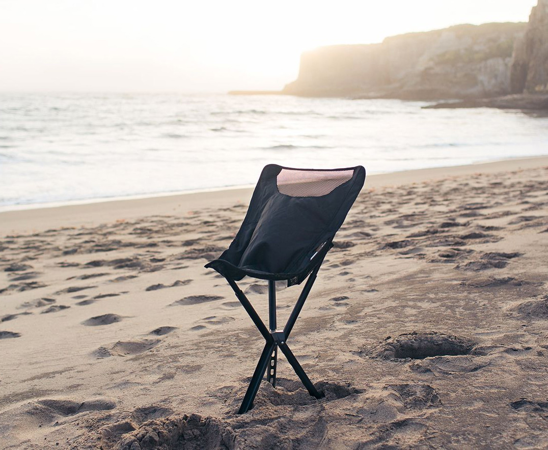 Kick Back in the Campster Full-Height Camp Chair at werd.com