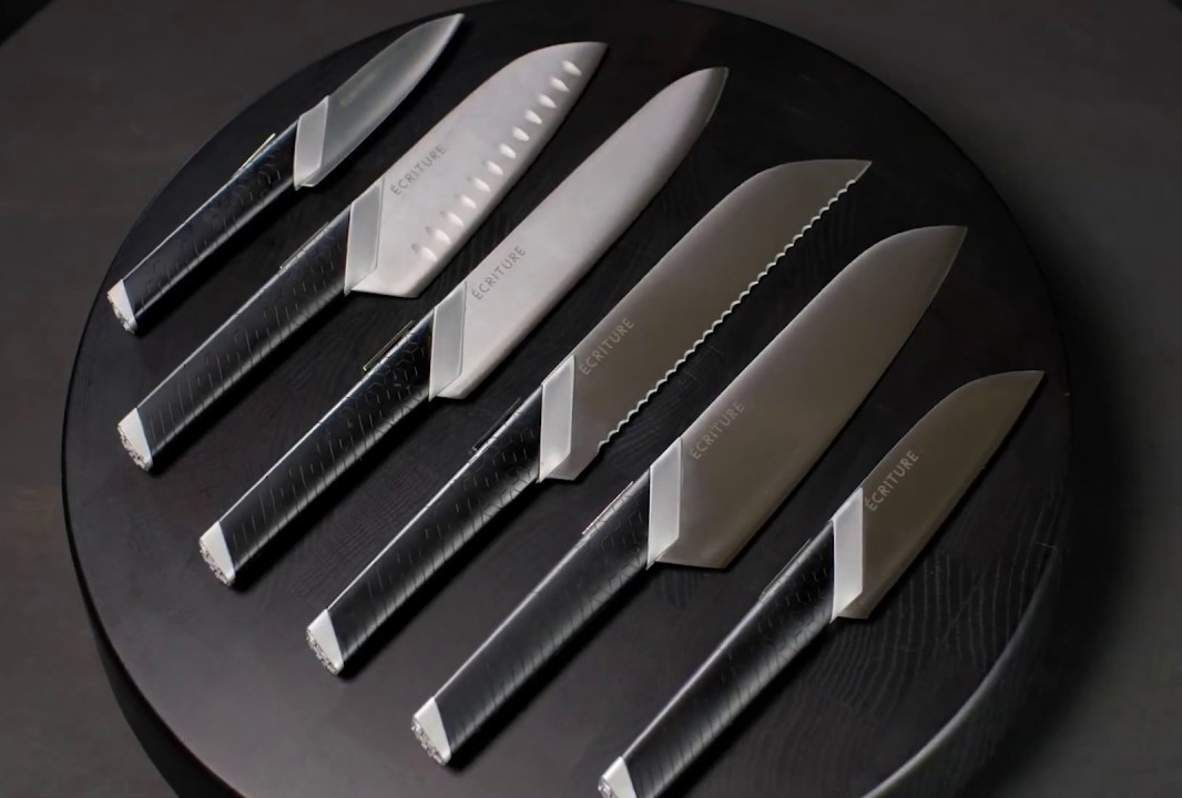 Get a Grip On Your Kitchen Skills with Ecriture Perfect Knives at werd.com