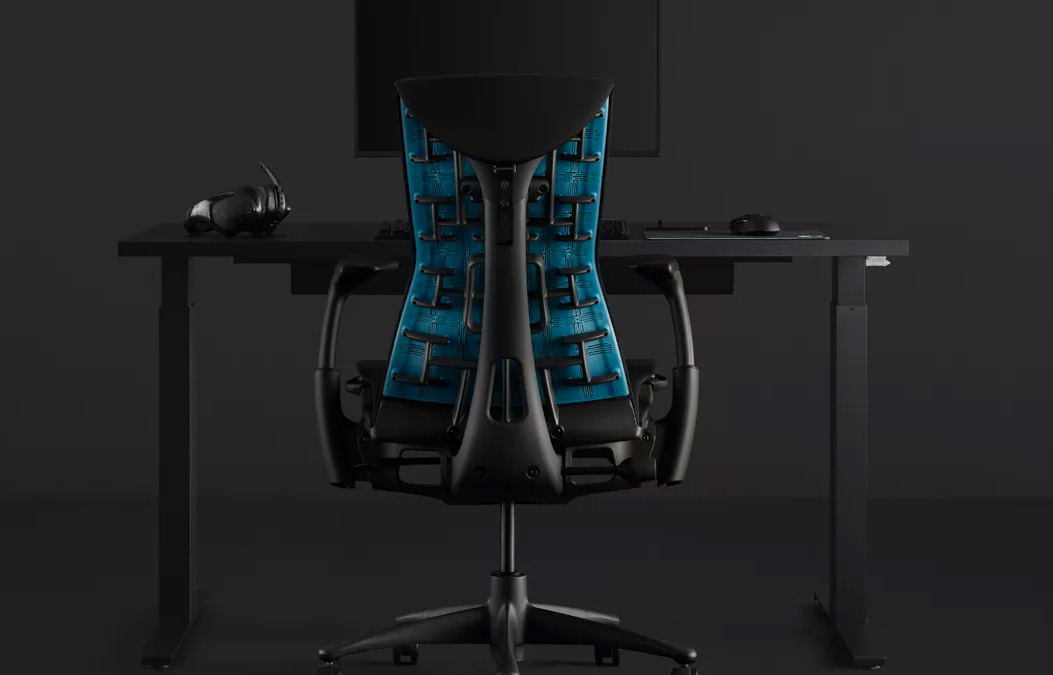 Herman Miller & Logitech Team-Up On Embody Gaming Chair at werd.com