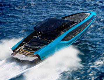 Lamborghini Launches Technomar Italian Super-Yacht
