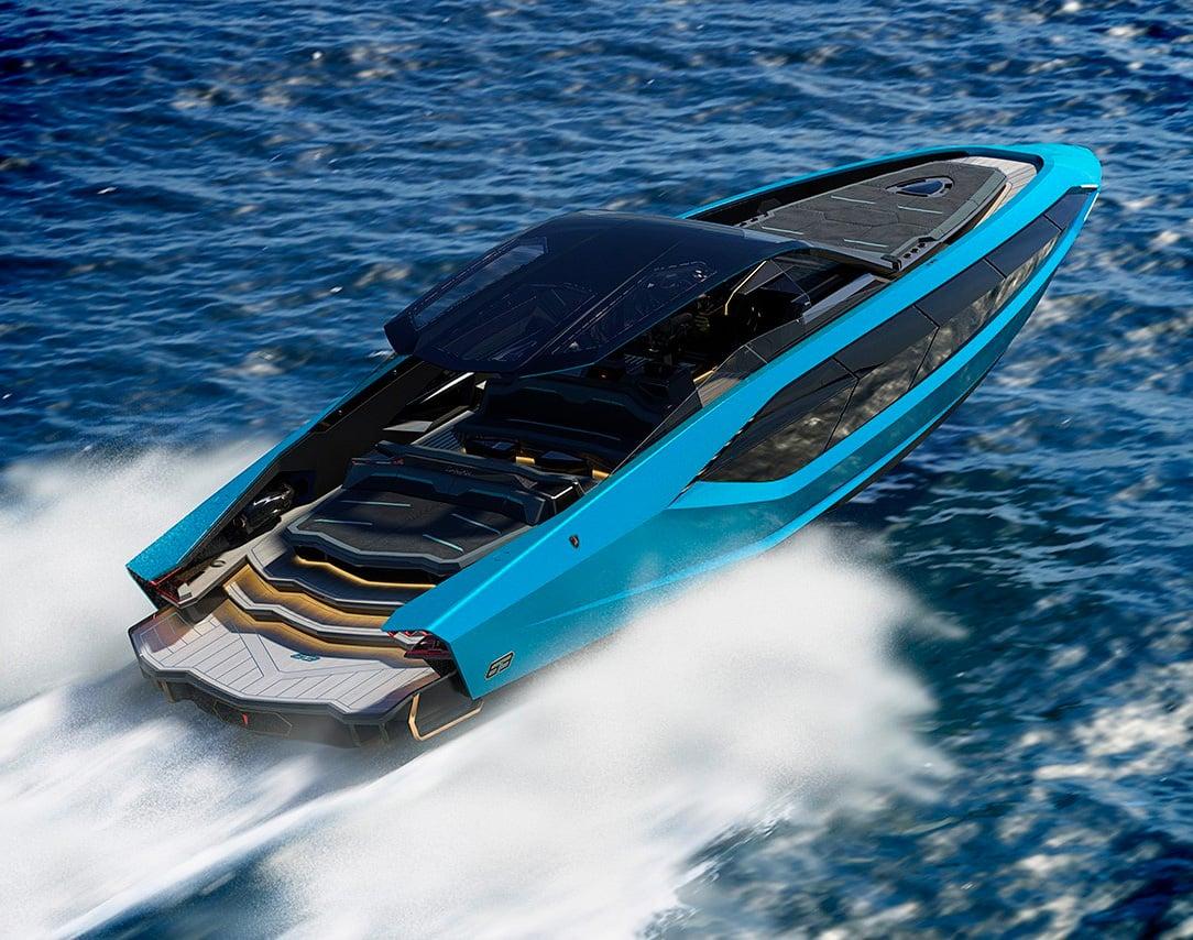 Lamborghini Launches Technomar Italian Super-Yacht at werd.com