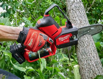Prune Like a Pro with this Milwaukee Mini-Chainsaw