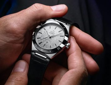 Omega Introduces Larger 41MM Constellation