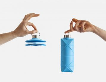 This is the World's First Origami Collapsible Bottle