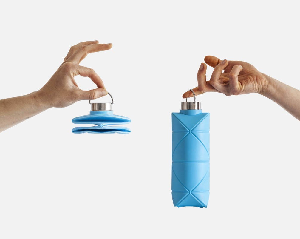 This is the World's First Origami Collapsible Bottle at werd.com