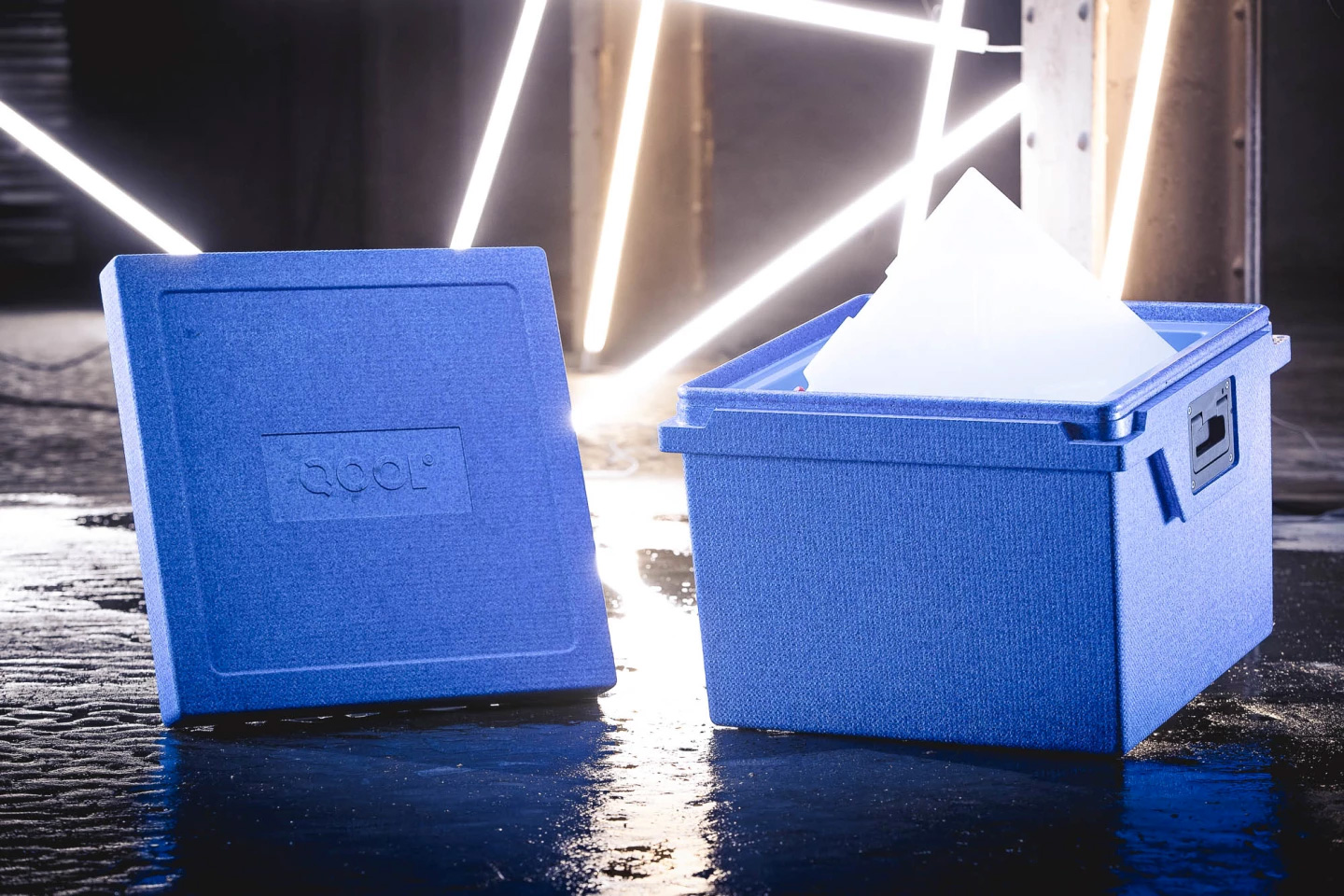 The QOOL Box Cooler Needs No Ice at werd.com