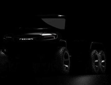 Rezvani Teases Insane Hercules 6X6 SUV