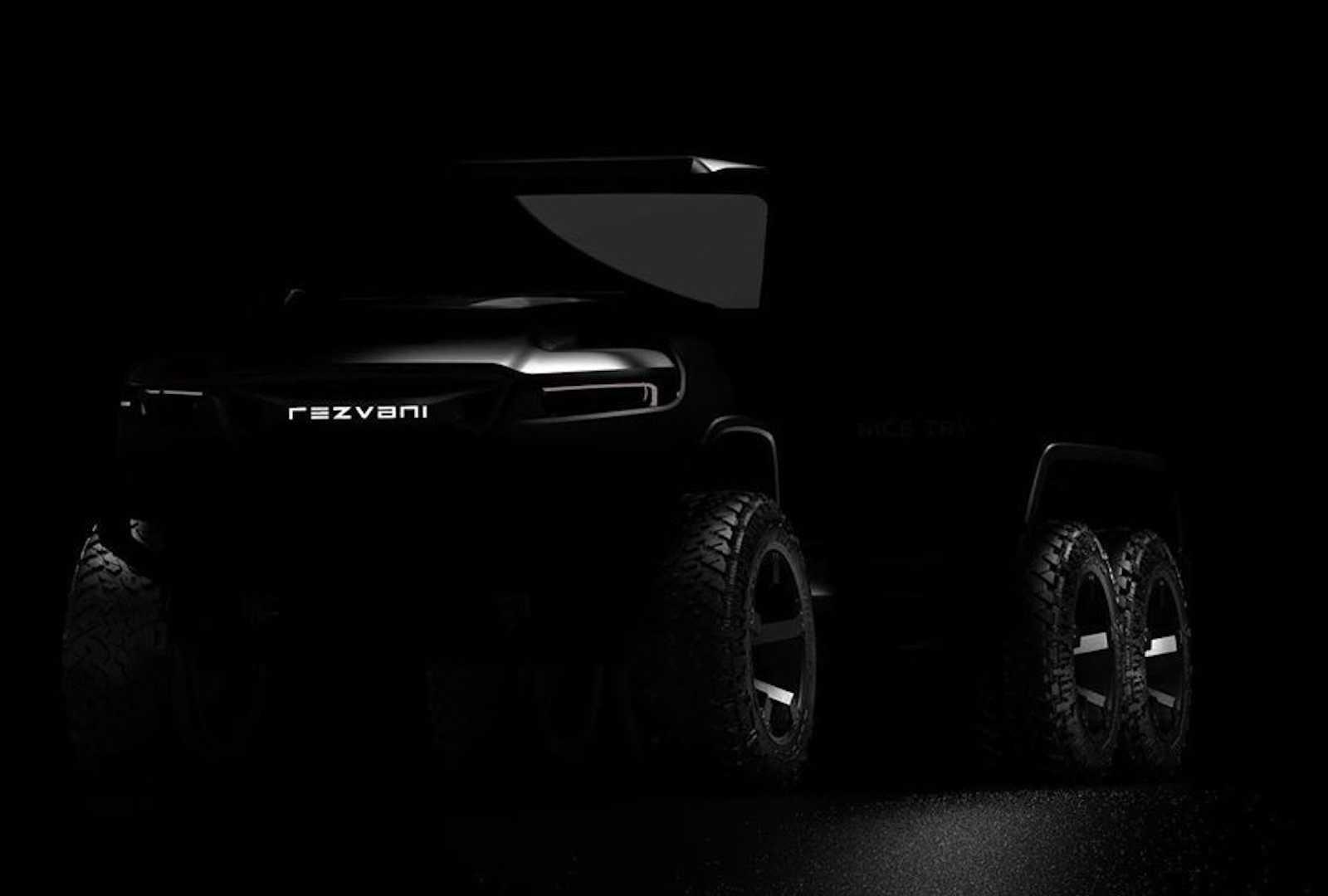 Rezvani Teases Insane Hercules 6X6 SUV at werd.com