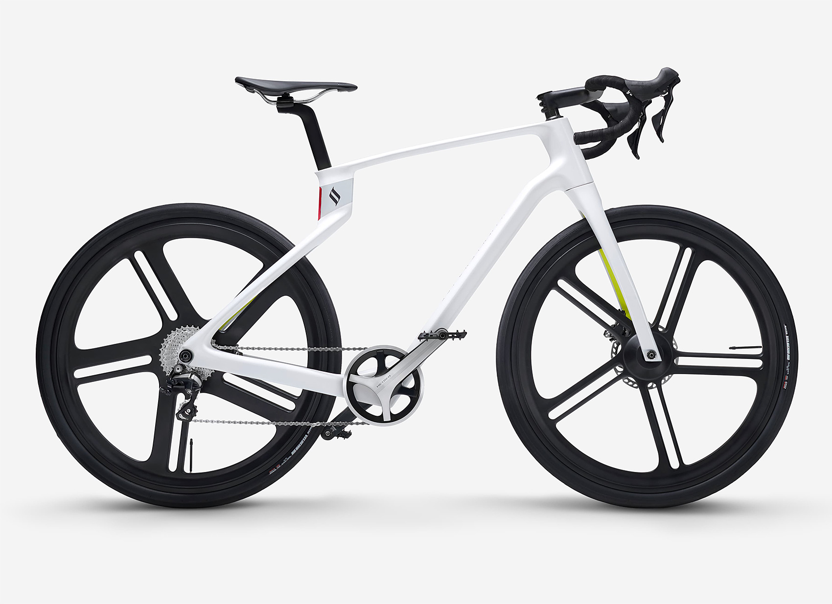 The SuperStrata is a 3-D Printed Unibody Carbon Fiber Bike at werd.com