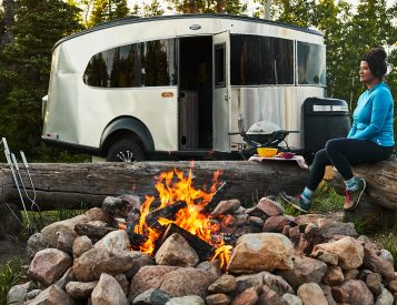 Airstream Re-Designs Family-Friendly Basecamp 20