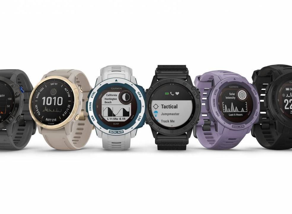 Garmin Adds Solar To Its Smartest Watches at werd.com