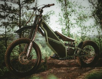 The Kuberg Ranger is a 50MPH Off-Road Electric Scooter