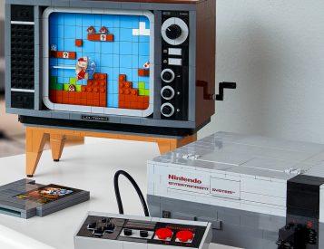 LEGO Nintendo NES Set Recreates Classic Console