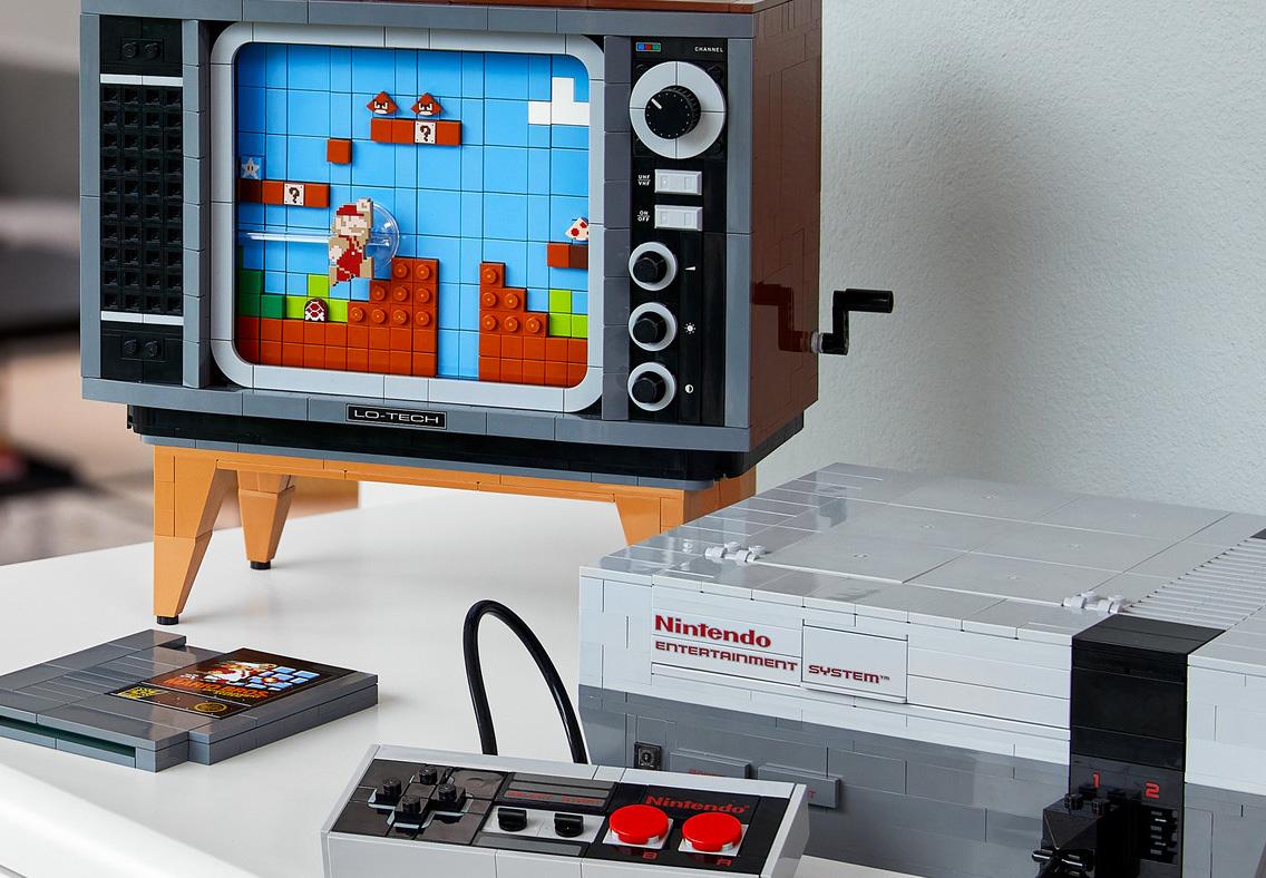 LEGO Nintendo NES Set Recreates Classic Console at werd.com