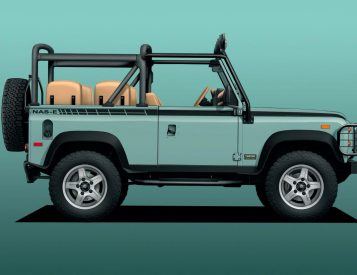 Go Eco-Off-Roading in an Electric Land Rover 90