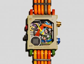 Vollebak Recycles Tech Trash Into Luxe Garbage Watch