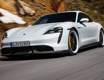 For 2021 Porsche Juiced Up the Taycan Turbo S