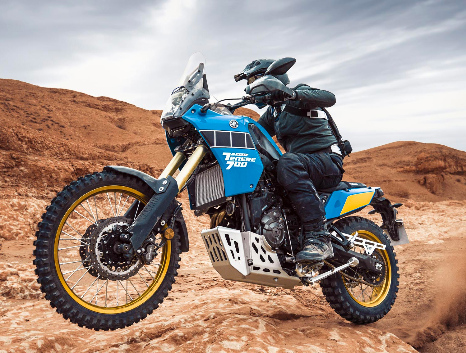 Yamaha's 2021 Ténéré 700 Celebrates Legendary Dakar Dominance at werd.com