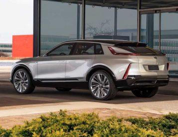 Cadillac Reveals 2023 Lyriq EV