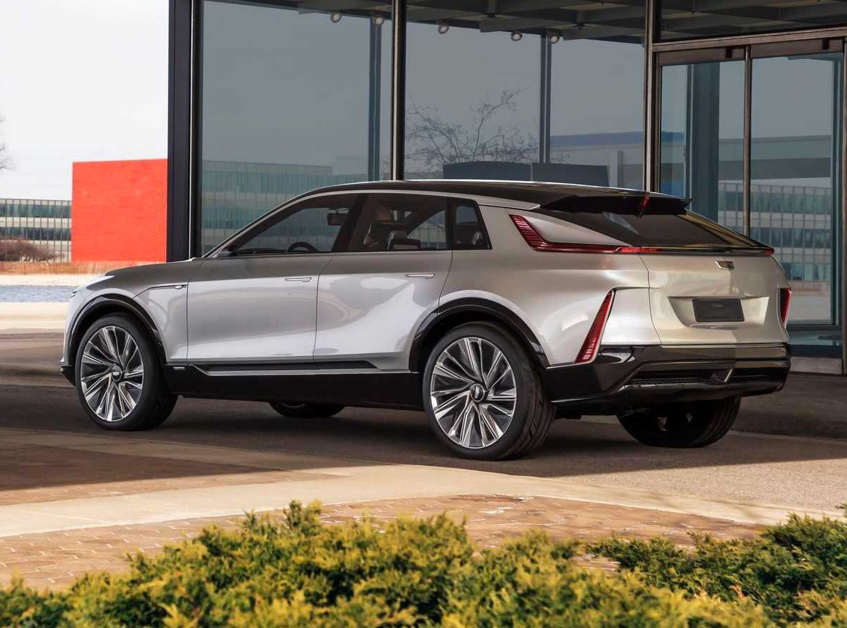 Cadillac Reveals 2023 Lyriq EV at werd.com