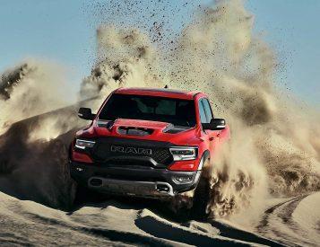 Dodge Rolls Out 2021 RAM 1500 TRX