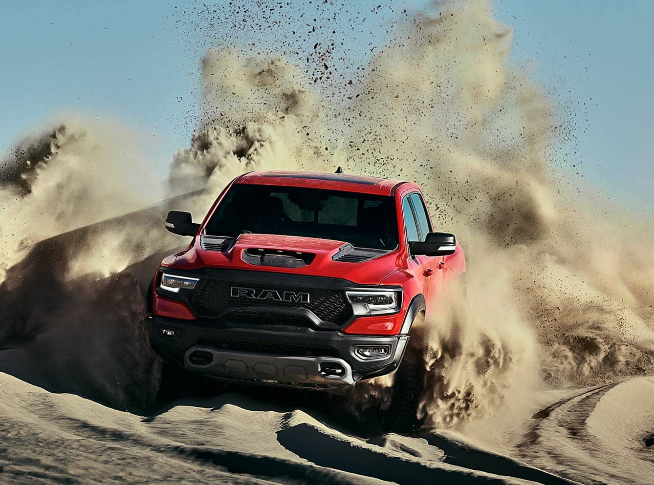 Dodge Rolls Out 2021 RAM 1500 TRX at werd.com