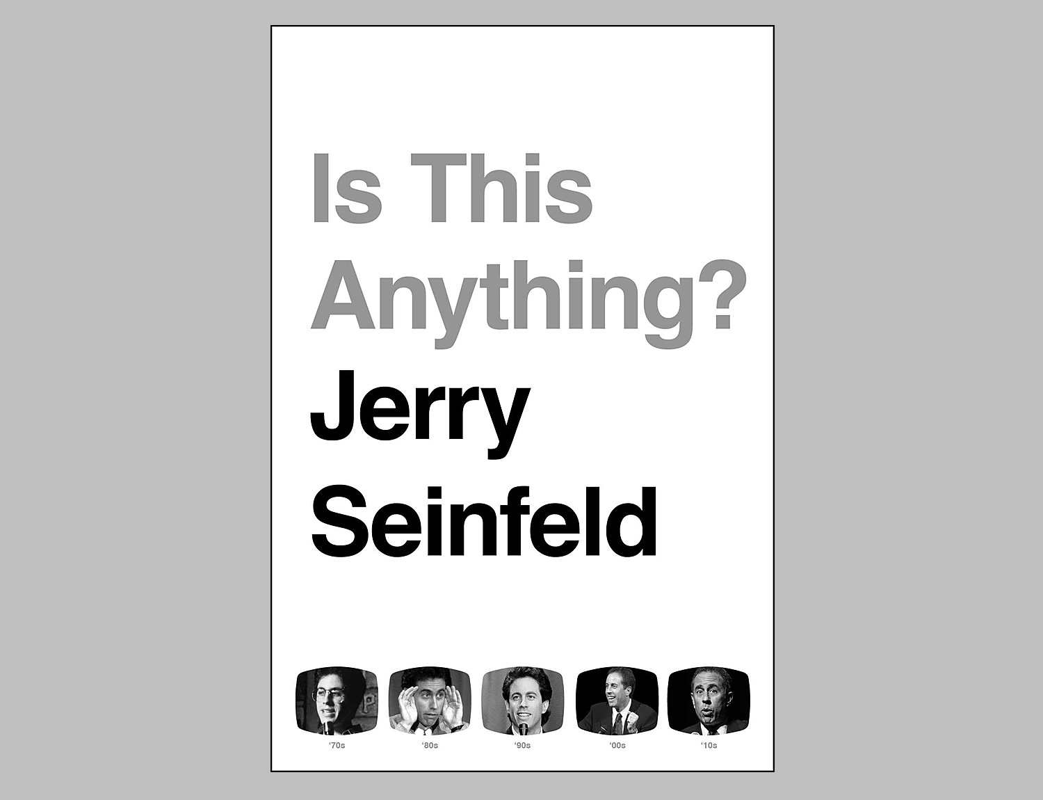 Is This Anything? By Jerry Seinfeld at werd.com