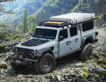 Jeep Unveils Farout Concept Gladiator