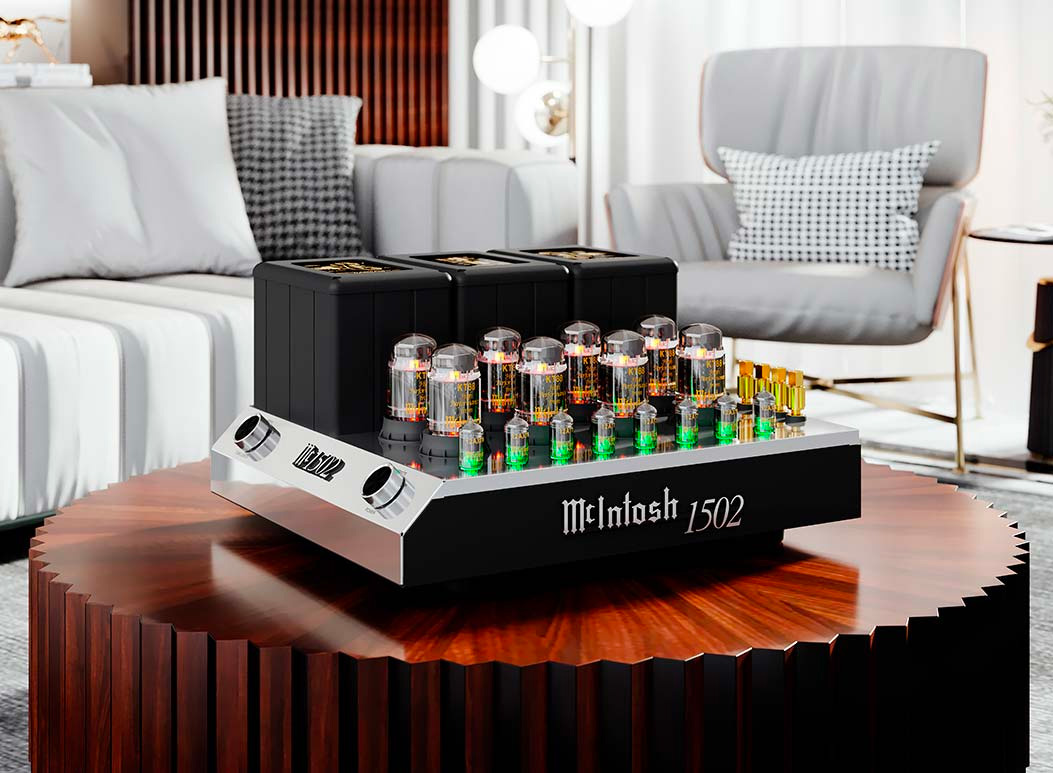 McIntosh MC1502 Tube Amp: Analog Audio Perfection at werd.com
