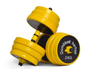 We're Pretty Pumped On This Nice C Combo Weight Set