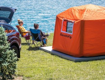 This Inflatable Tent Gets You Up Off The Ground