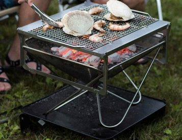 Light It Up & Chill with the Takibi Fire & Grill