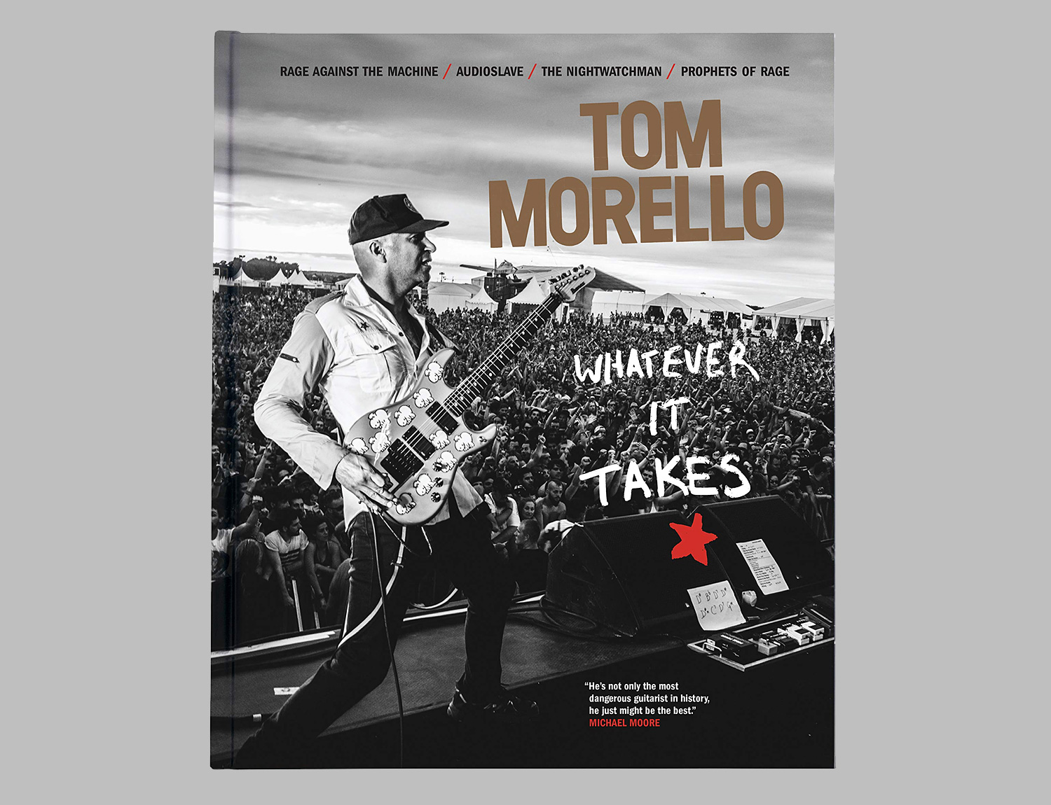 Whatever It Takes: Tom Morello Biography at werd.com
