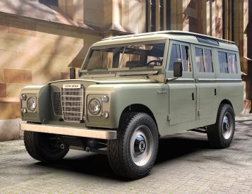 Zero Labs Electrifies the Classic Land Rover III