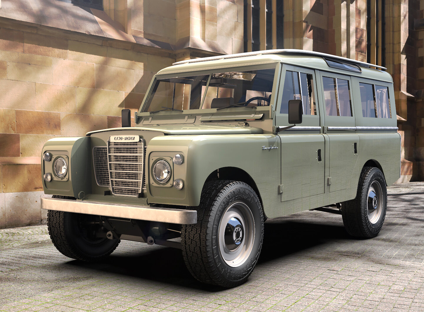 Zero Labs Electrifies the Classic Land Rover III at werd.com