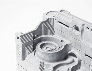 This Kinetic Desktop Sculpture is Brutal