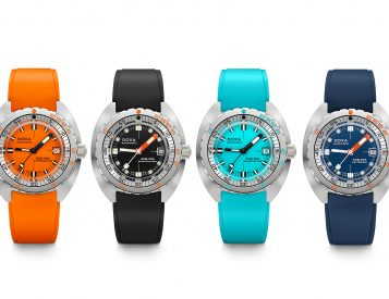Classic Doxa Diver Gets Splashed with Color