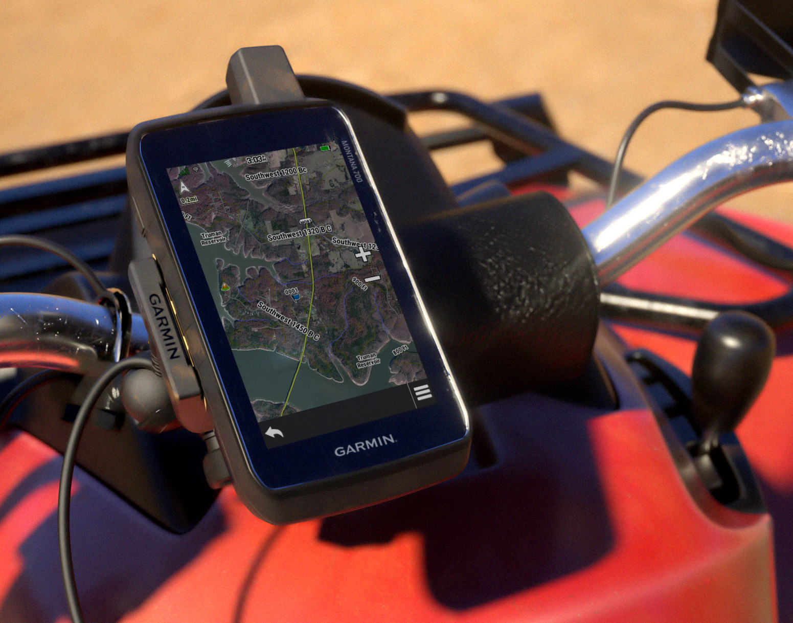 Garmin Powers Up 700-Series Handheld Nav Units at werd.com