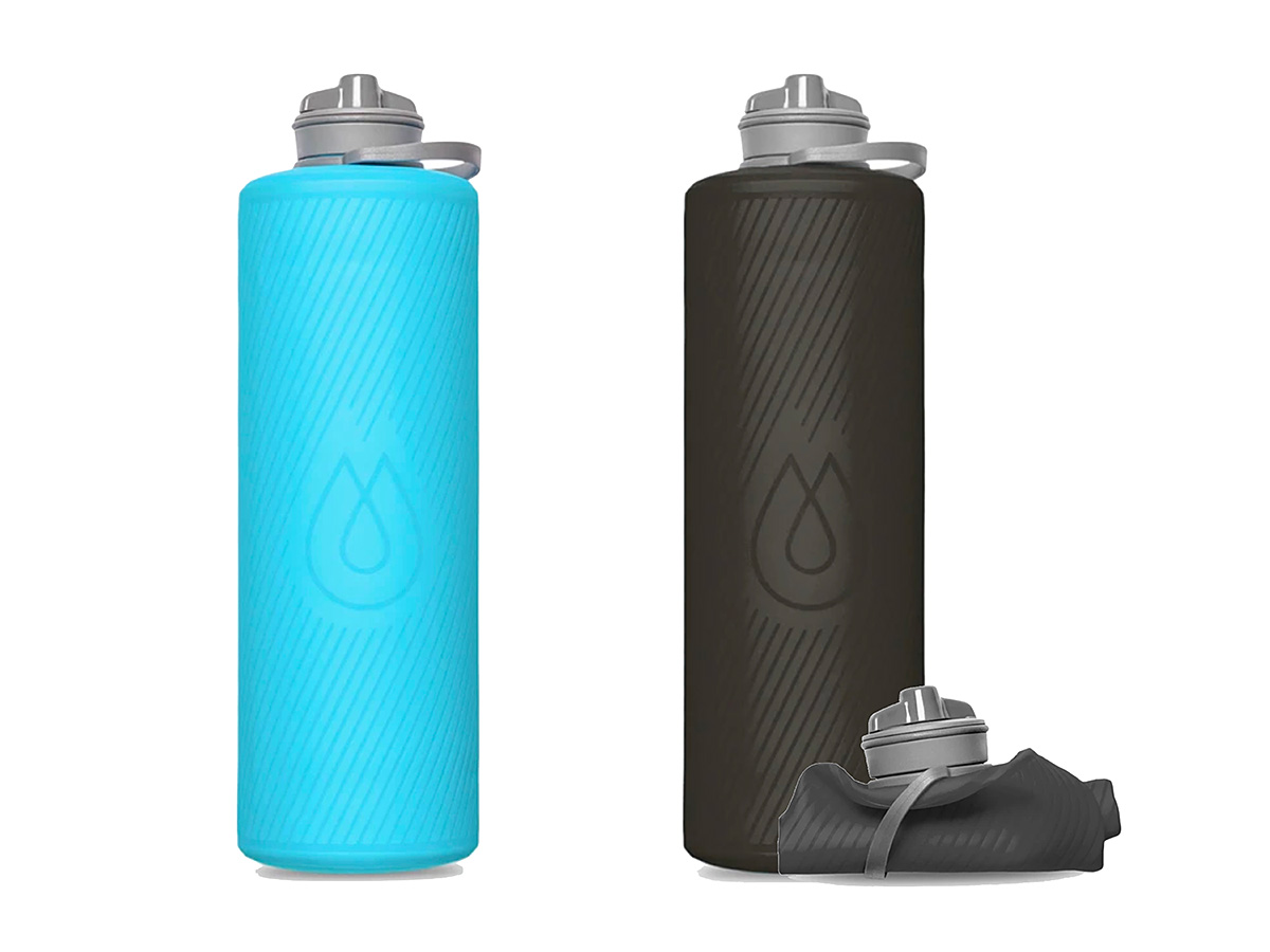 Hydrapak Flux Water Bottle Puts a Liter in Your Pocket at werd.com