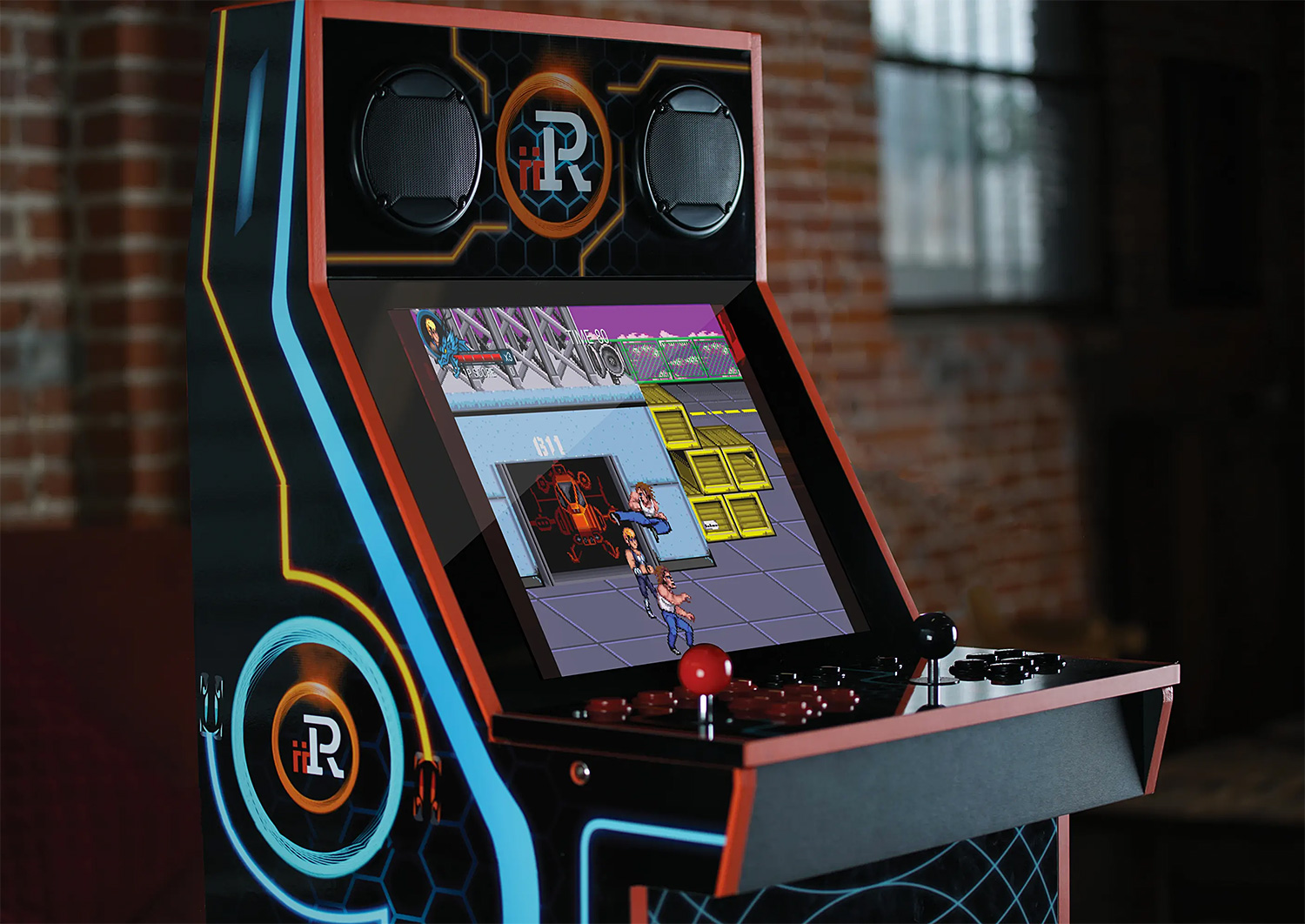 Fit The Whole Arcade Into Your Game Room With iiRcade at werd.com