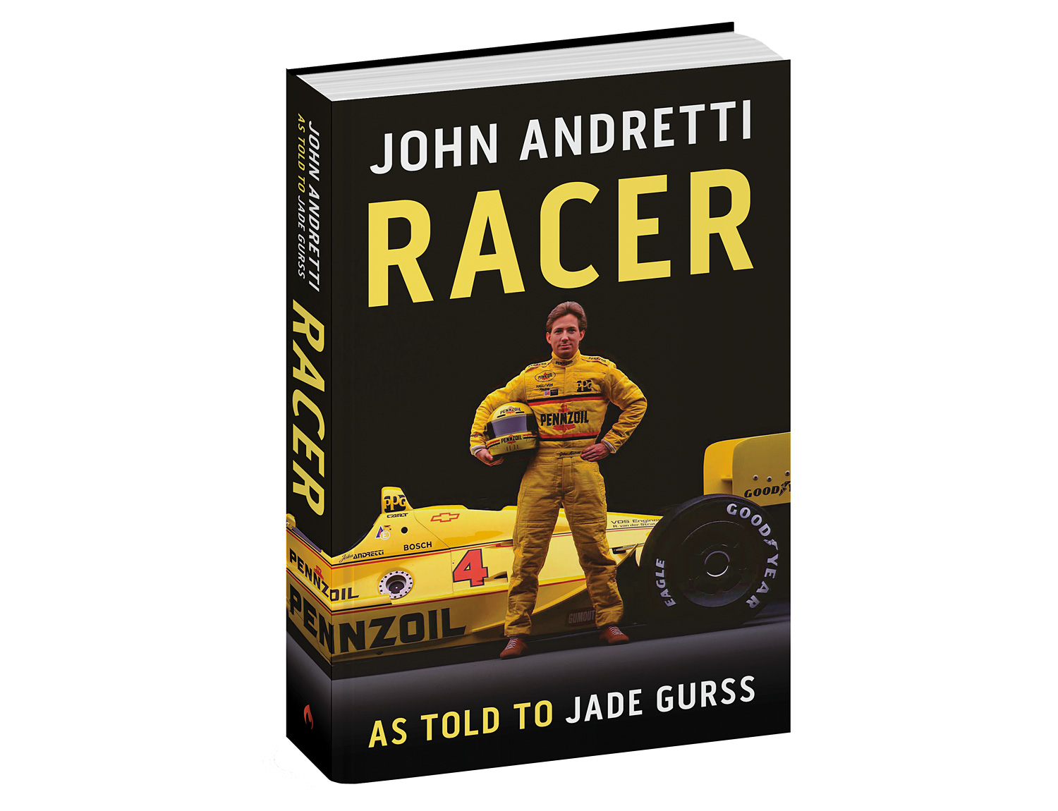 Racer: John Andretti Biography at werd.com